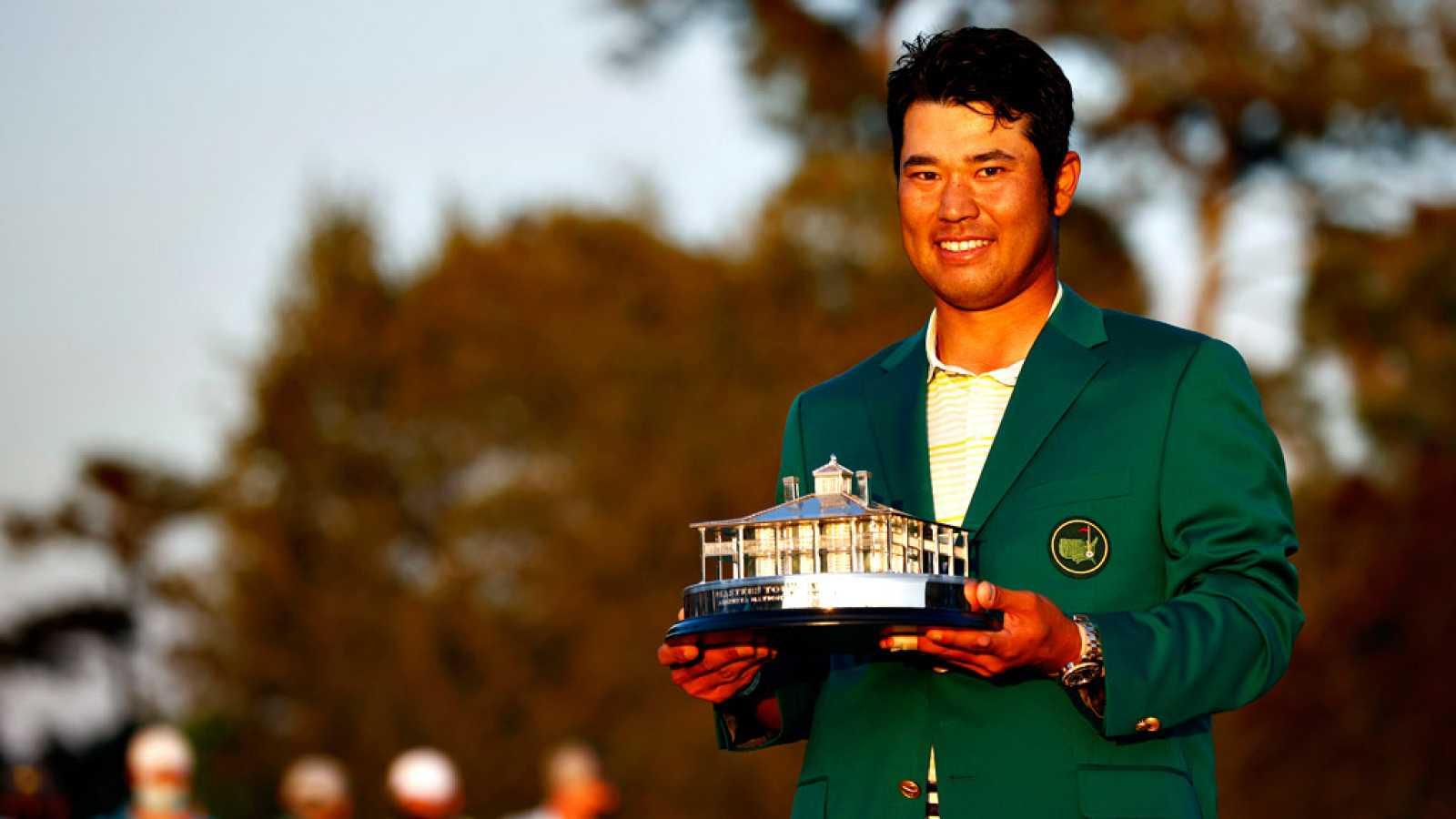 Hideki Matsuyama hace historia al ser el primer japonés que se pone la chaqueta verde de Augusta