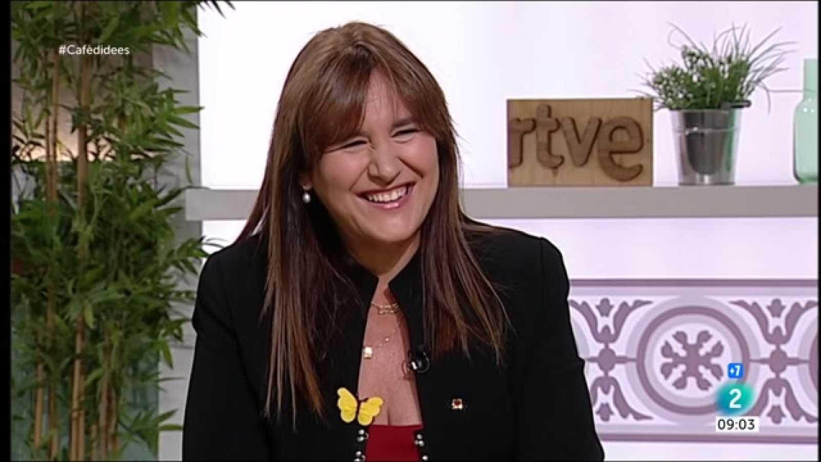 """Cafè d'idees - Laura Borràs, sobre Cuevillas: """"Hi ha debats que no estan oberts"""""""