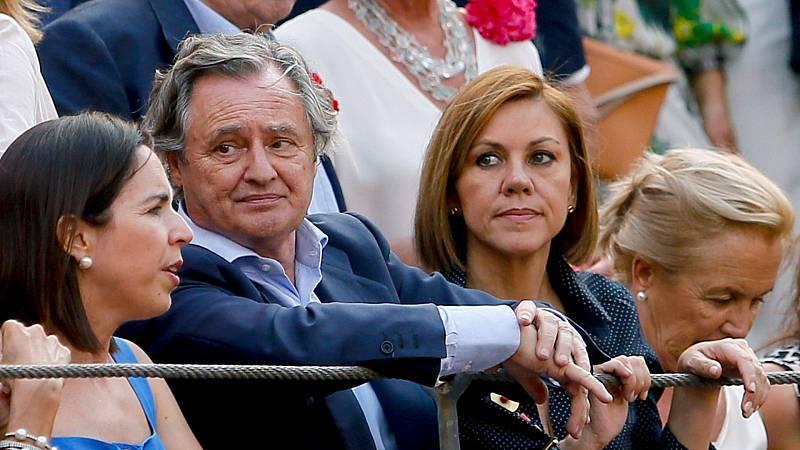 """El marido de Cospedal niega dos donaciones al PP: """"No soy ninguna de esas personas"""""""