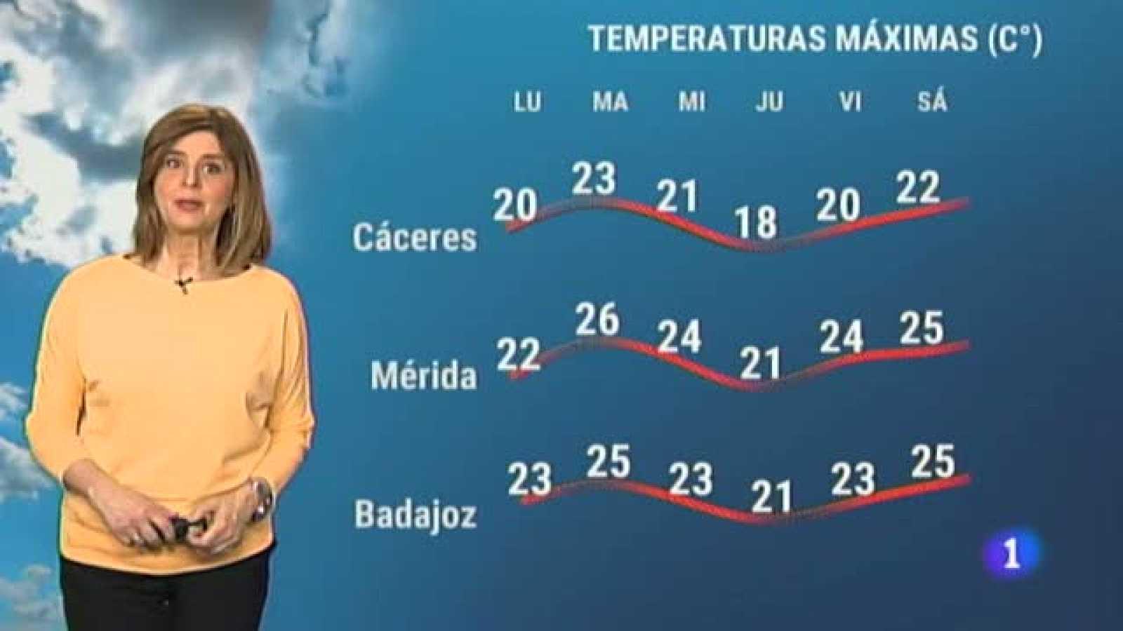 El tiempo en Extremadura - 12/04/2021