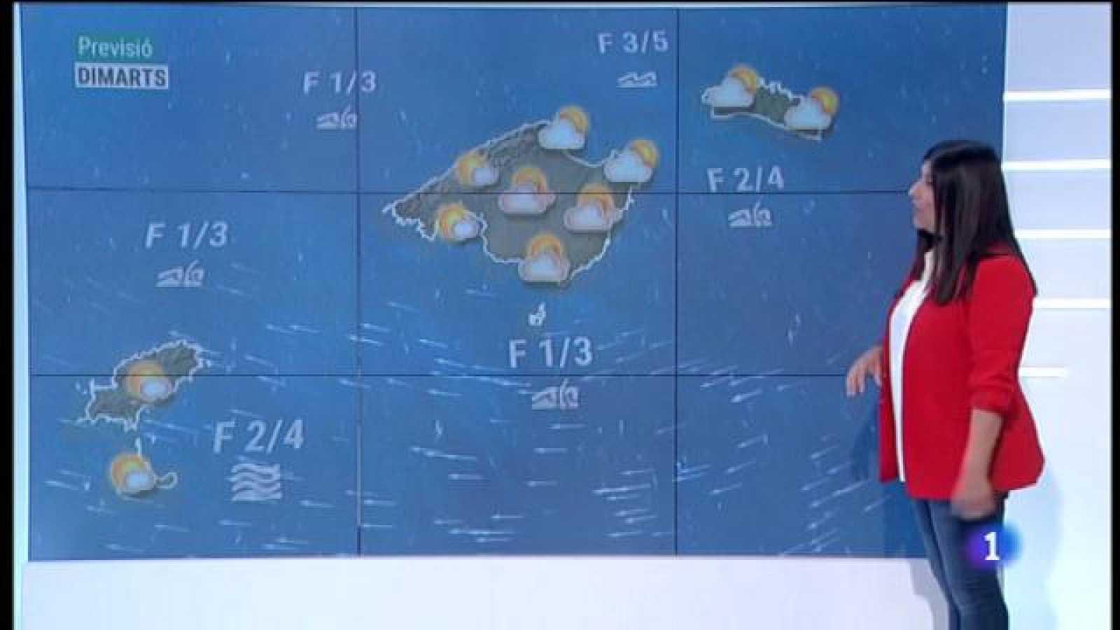 El temps a les Illes Balears - 12/04/21