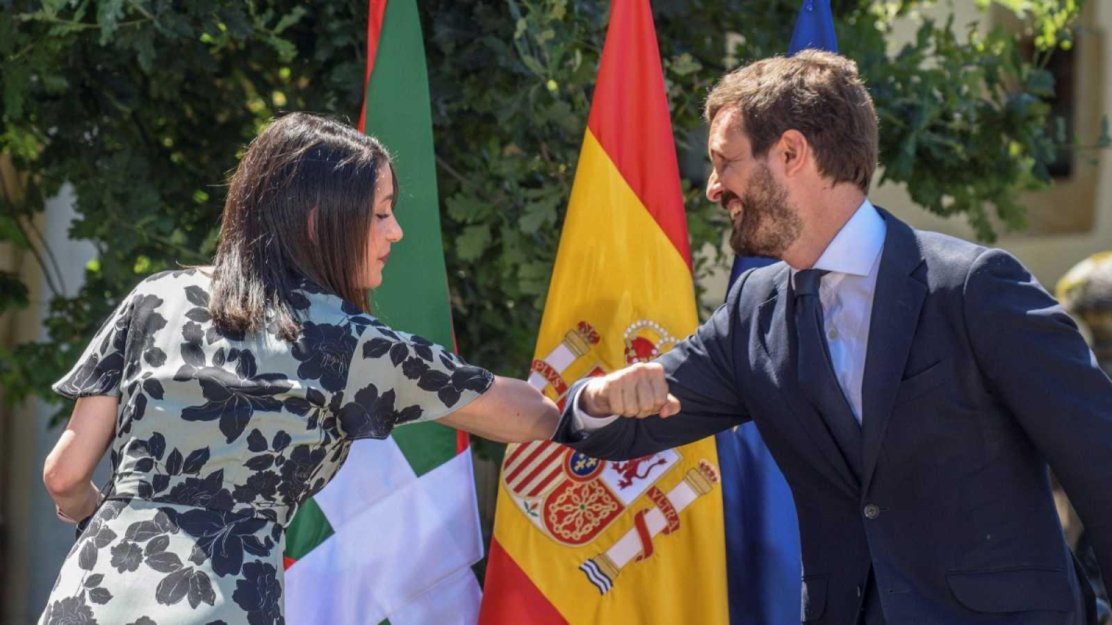 """Casado asegura que su partido ha sido generoso con Cs: """"A Arrimadas le he ofrecido todo"""""""