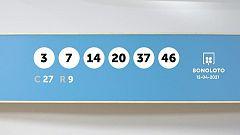 Sorteo de la Lotería Bonoloto del 12/04/2021