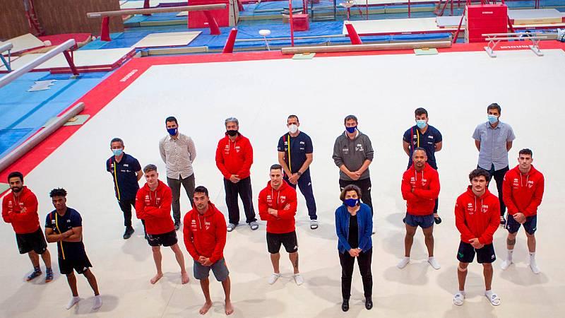 El equipo masculino de gimnasia artística, a Tokio pasando por Mallorca