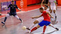 España golea a Suiza y continúa invicta en su camino hacia la Eurocopa de Fútbol Sala