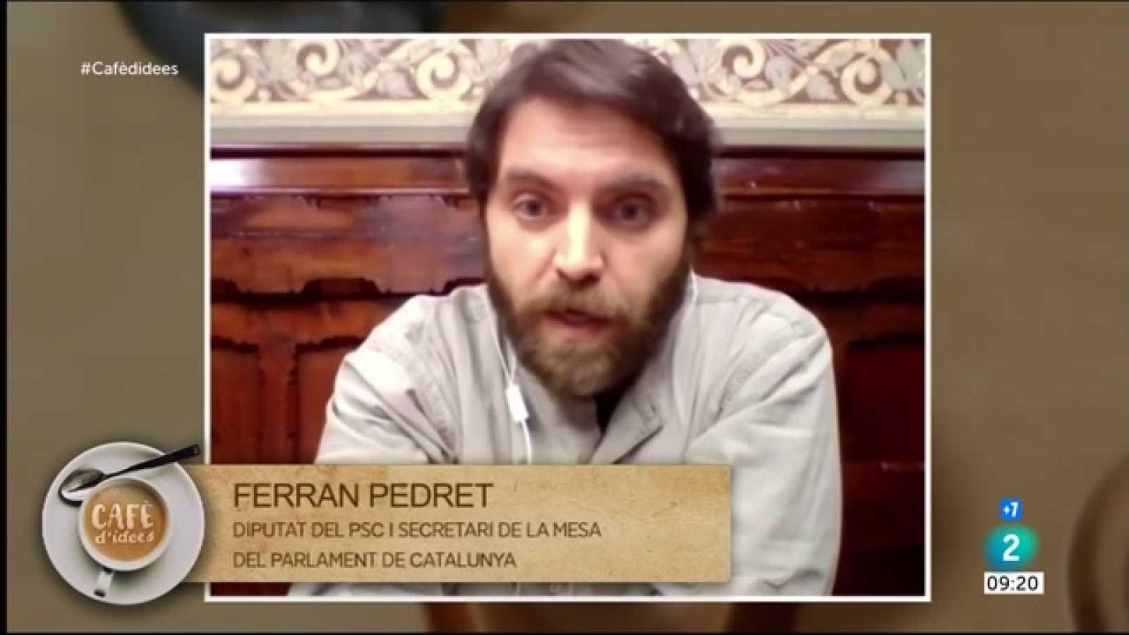 """Ferran Pedret: """"Apartar Cuevillas és una estratègia per dinamitar la legislatura"""""""