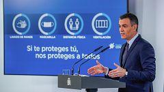 """Sánchez anuncia que el Plan de Resilencia incorpora """"102 reformas y 110 inversiones"""""""