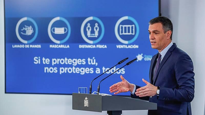 """Coronavirus - Sánchez anuncia que el Plan de Resilencia incorpora """"102 reformas y 110 inversiones"""" - Ver ahora"""