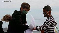 Clases a orillas del Mar Menor para evitar que se propaguen los contagios