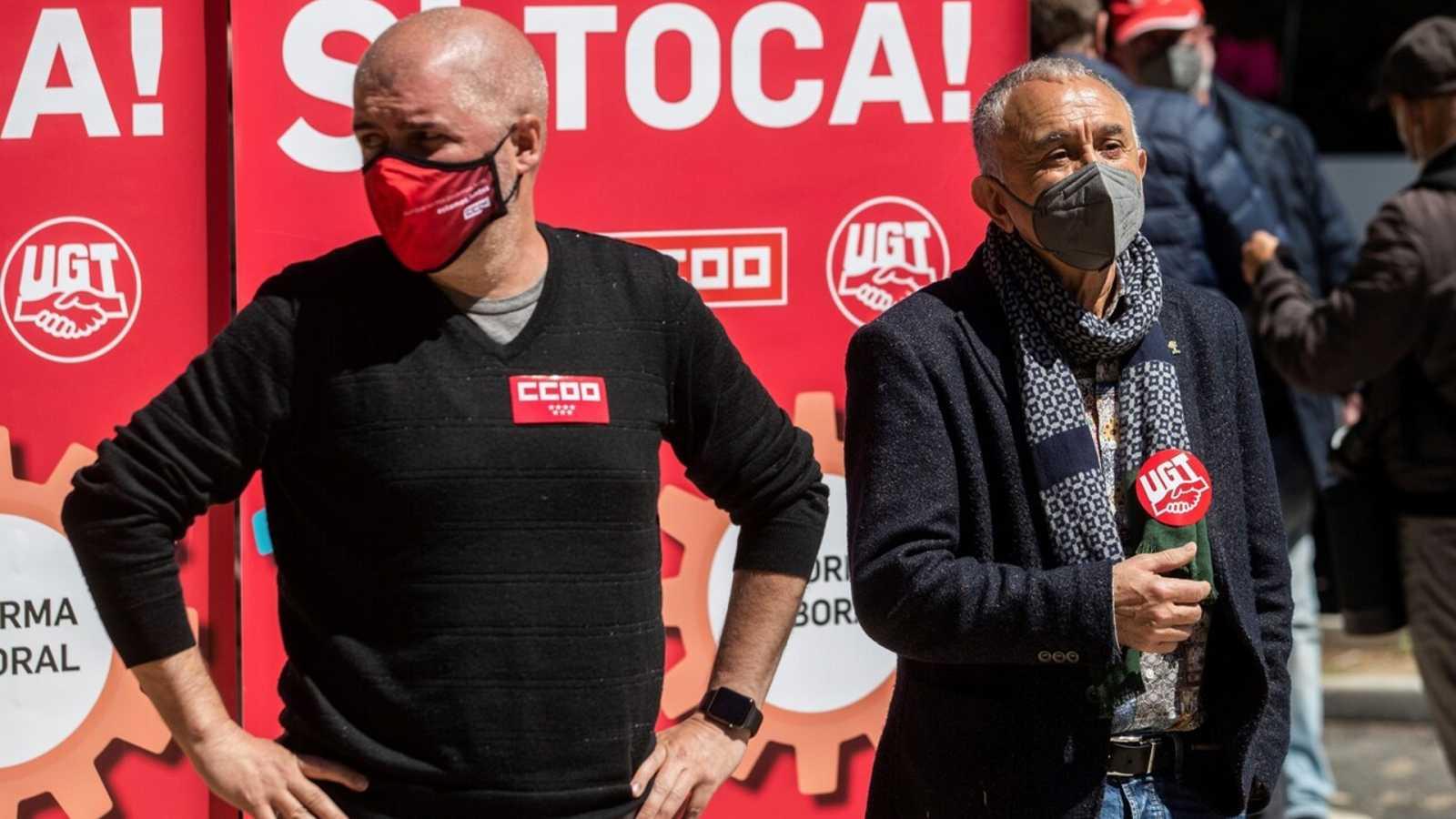 Sindicatos, PP y Unidas Podemos critican la propuesta de reforma de las pensiones del Gobierno - Ver ahora