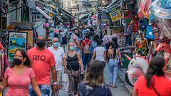 Gobernadores de Brasil aplican medidas contra el coronavirus ante la pasividad de Bolsonaro