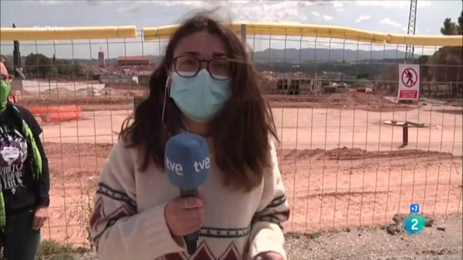 Veïns d'Olesa denuncien que l'urbanització de Cal Candi destrueix el territori