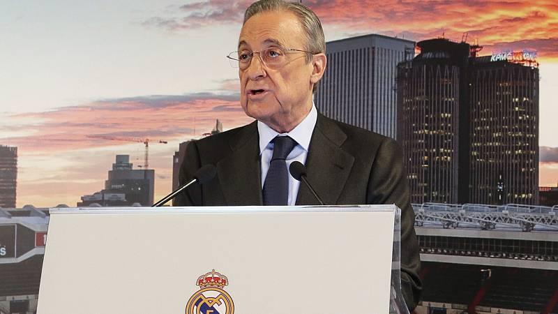 El estadio y Mbappé, los retos de Florentino Pérez en su sexto mandato