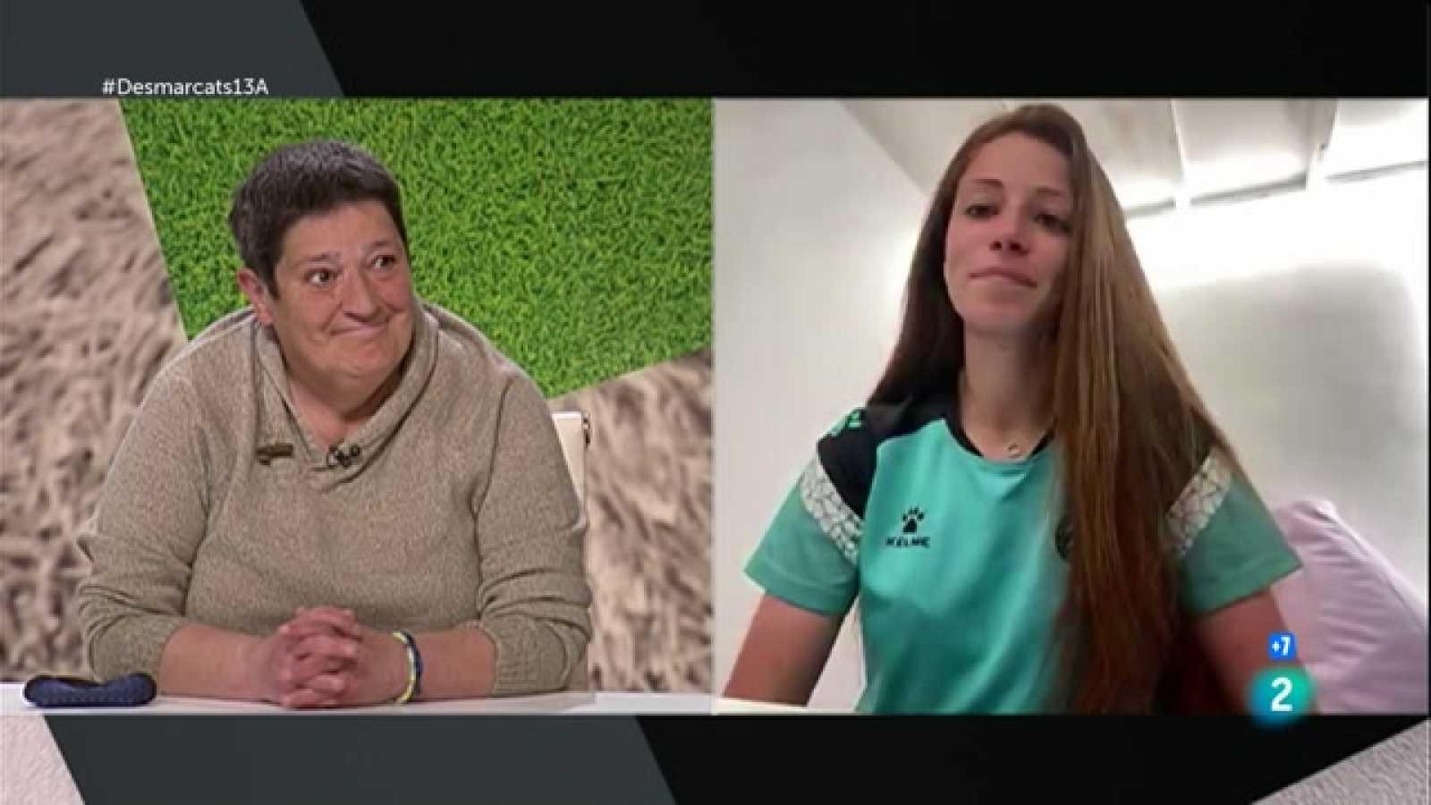 Desmarcats - Rosa Pedrosa i Xènia Pérez, exjugadora i jugadora de l'Espanyol