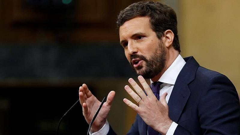 """Casado exige a Sánchez una ley de pandemias: """"Basta ya de excepcionalidad"""""""