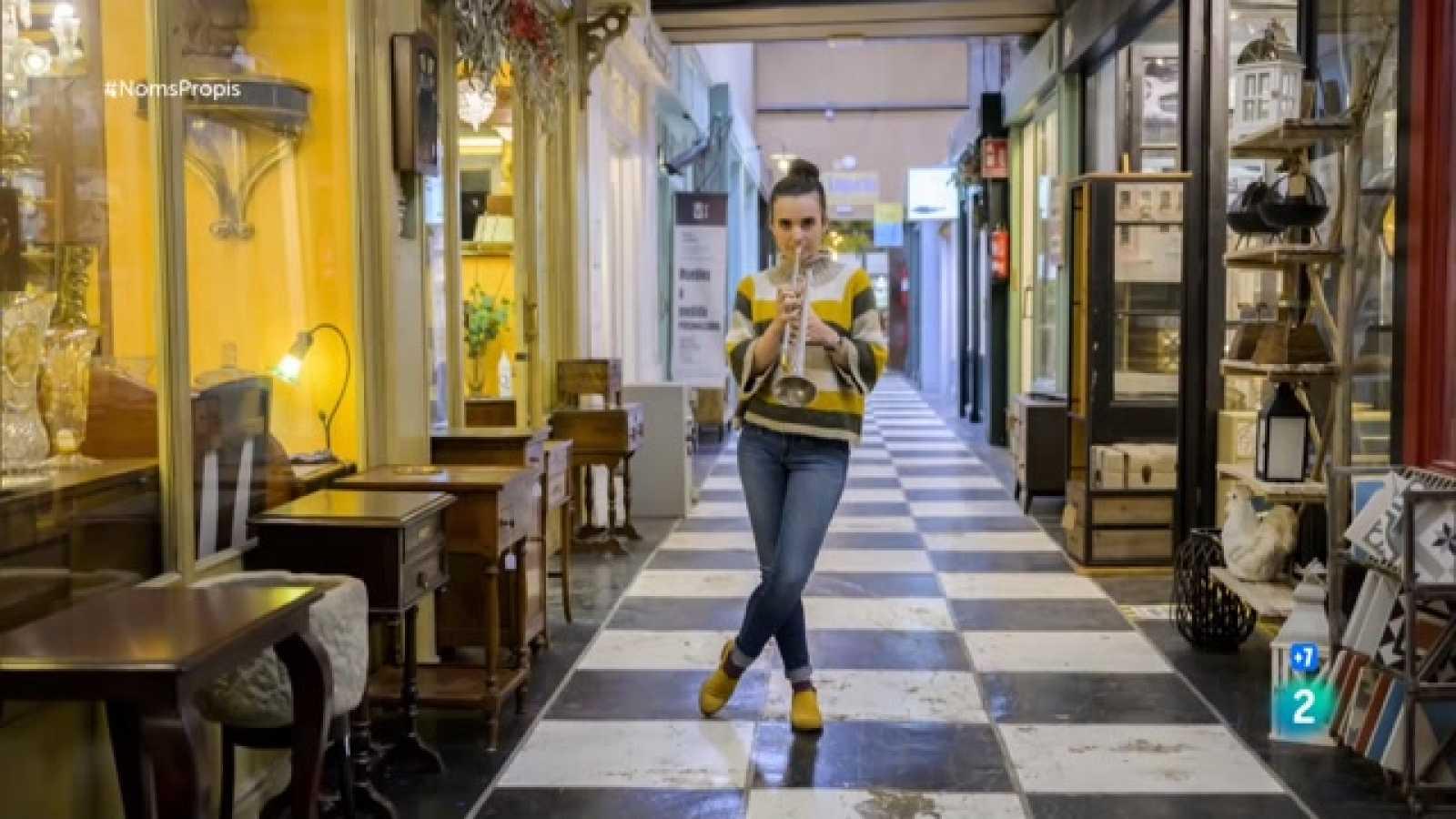 Andrea Motis entrevistada per Anna Cler a Noms Propis