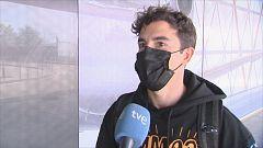 """Márquez, rumbo a Portimao con """"mariposas en el estómago"""" tras nueve meses de parón"""