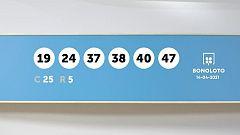 Sorteo de la Lotería Bonoloto del 14/04/2021