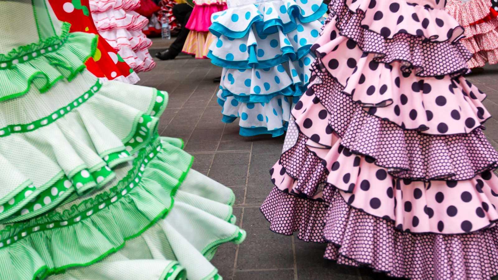El coronavirus provoca que por segundo año no haya Feria de Abril y las tiendas de moda flamencas agonicen al no facturar
