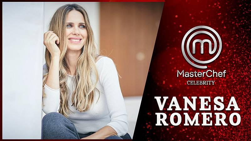 Vanesa Romero, en las cocinas de Masterchef Celebrity 6
