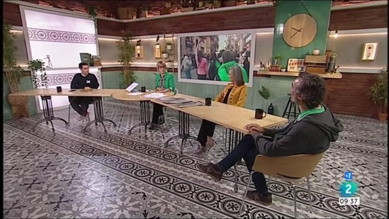 Jéssica Albiach, Daniel López-Codina i Pablo López