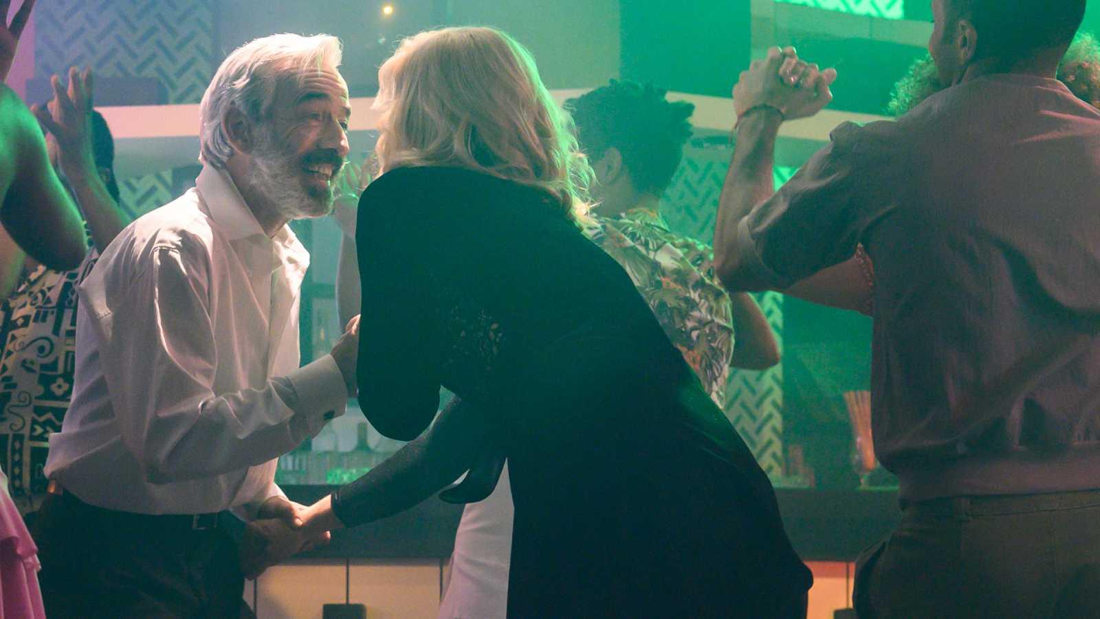 El subidón de Antonio y Mercedes después de bailar salsa