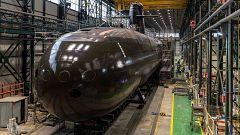 Listo el submarino S-81 Isaac Peral