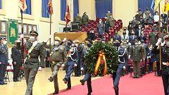 El Ejército rinde homenaje a los militares fallecidos por coronavirus