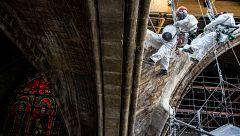 Así avanza la reconstrucción de Notre Dame