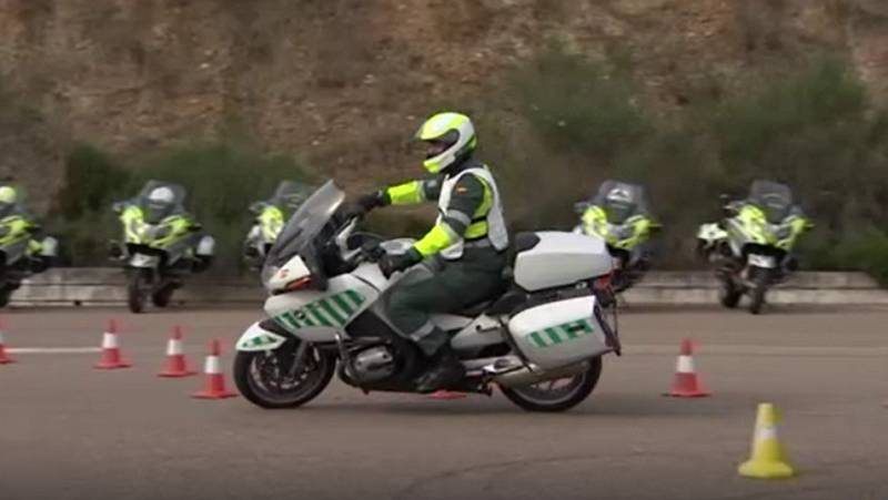 El 'casting' de la Guardia Civil para la Vuelta a España