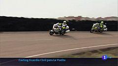 Casting de la Guardia Civil para la Vuelta a España