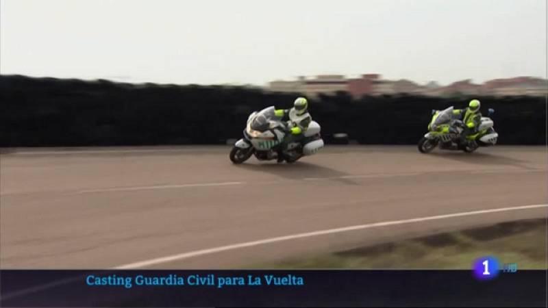 Casting de la Guardia Civil para la Vuelta a España - 15/04/2021