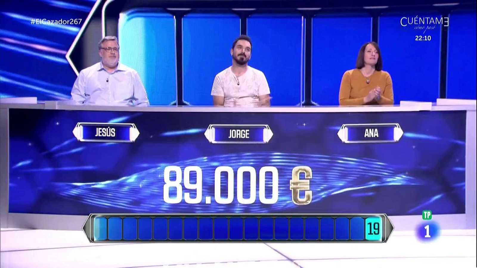 El cazador - ¡Los concursantes no consiguen 89.000 euros de bote!