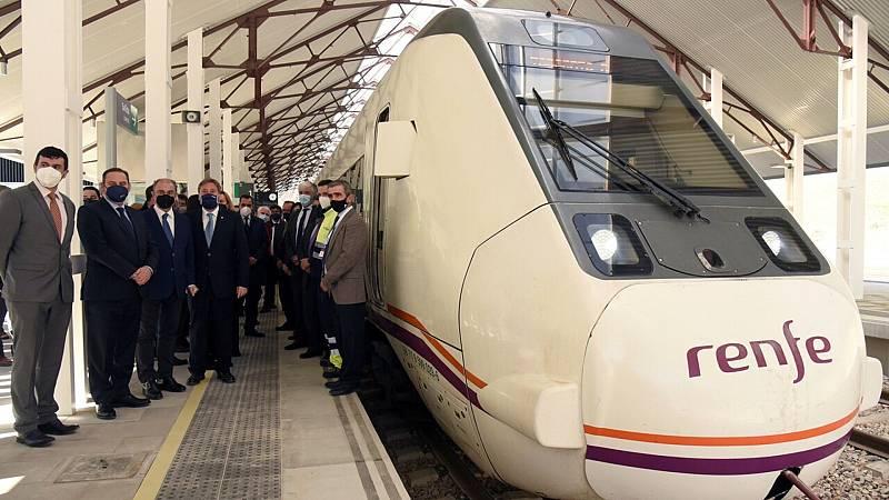 Se inaugura la nueva estación de tren de Canfranc - Ver ahora