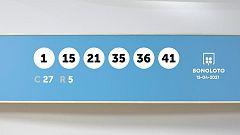 Sorteo de la Lotería Bonoloto del 15/04/2021