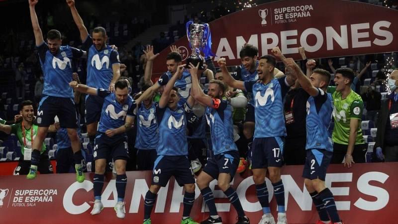 Así ha levantado el Inter Movistar la Supercopa de España de fútbol sala