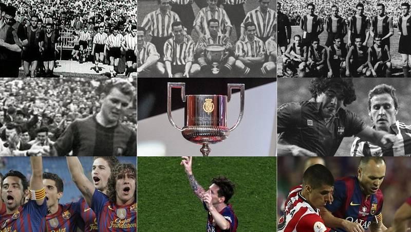 La Copa del Rey vuelve a enfrentar a dos reyes: Athletic y Barça