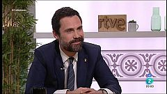 "Cafè d'idees - Roger Torrent: ""No contemplem un govern en solitari"""