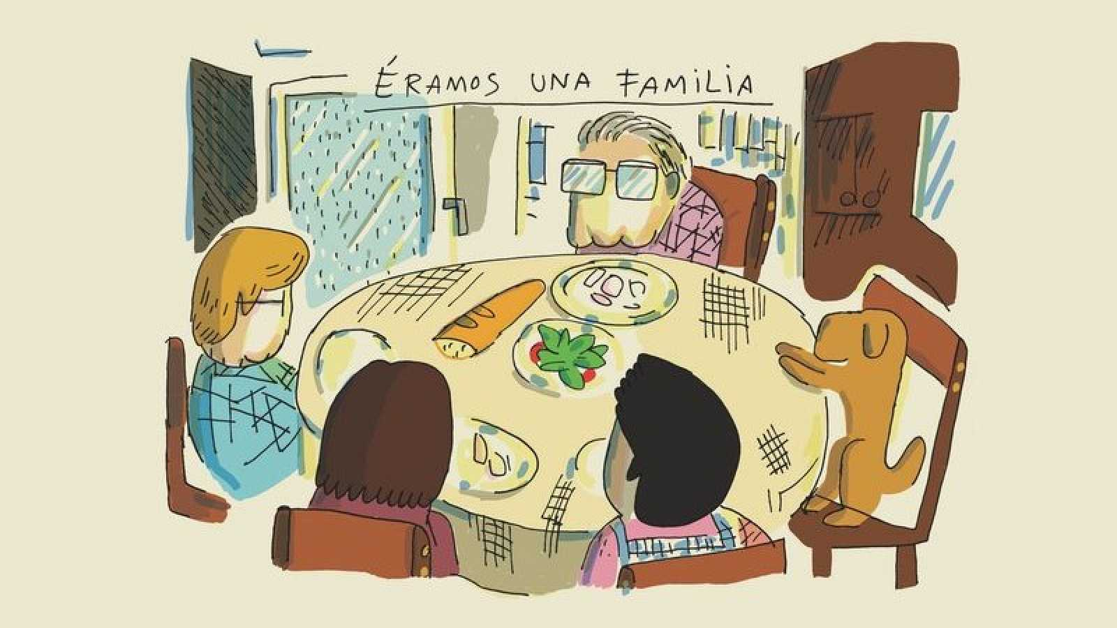 El dibujante Juanjo Sáez se despide de su familia con el emocionante libro 'Para los míos'