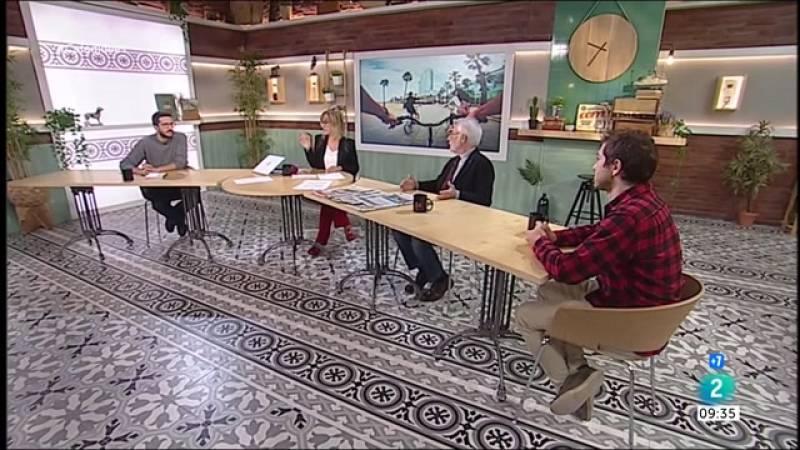 Roger Torrent, Carmen Cabezas i circulació dels ciclistes