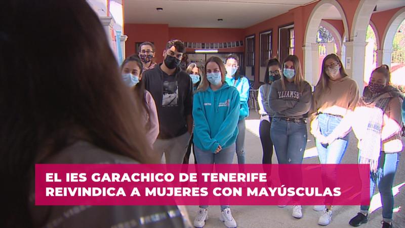 La apuesta por la igualdad del Instituto de Garachico en Canarias