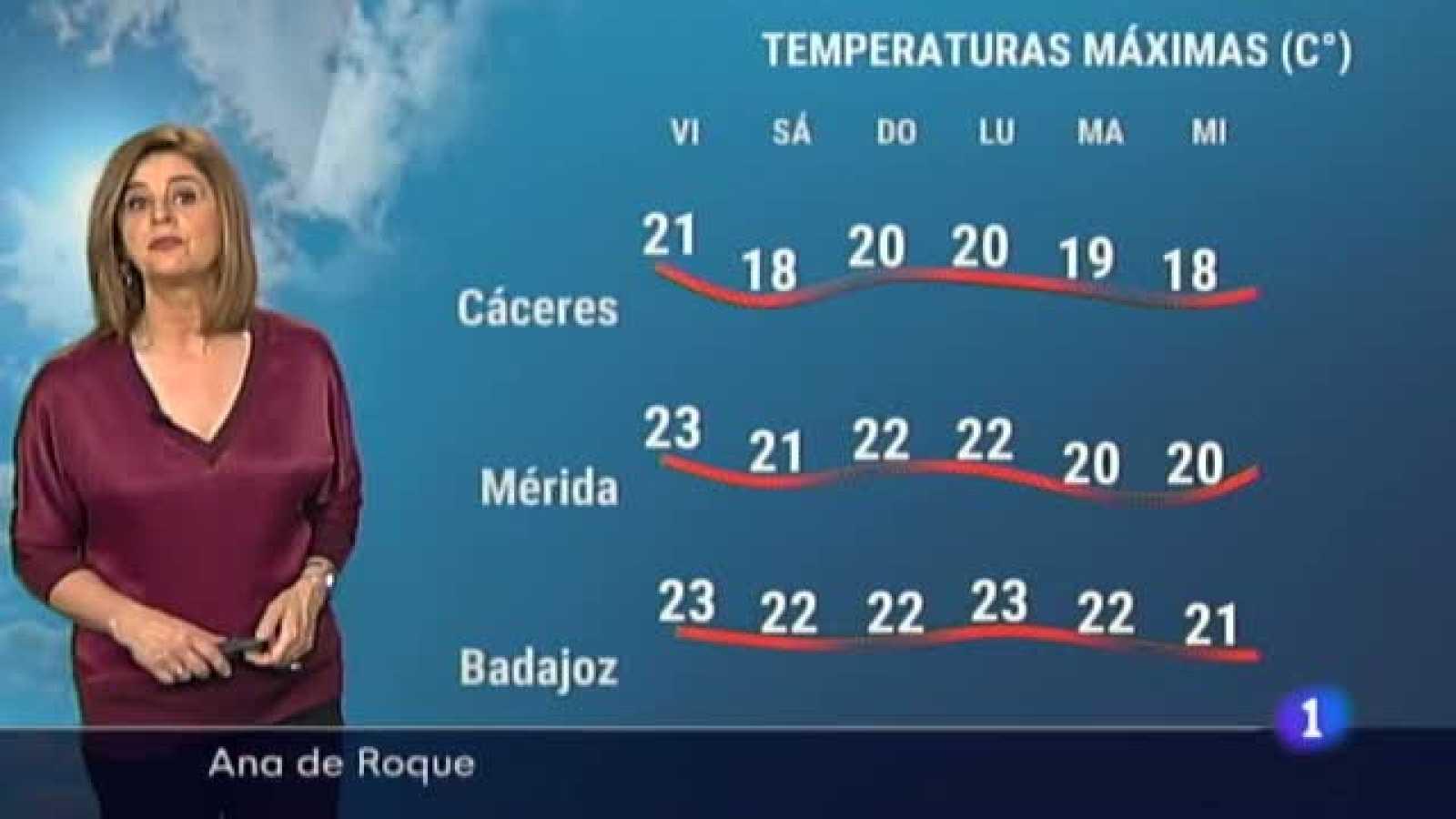 El tiempo en Extremadura - 16/04/2021