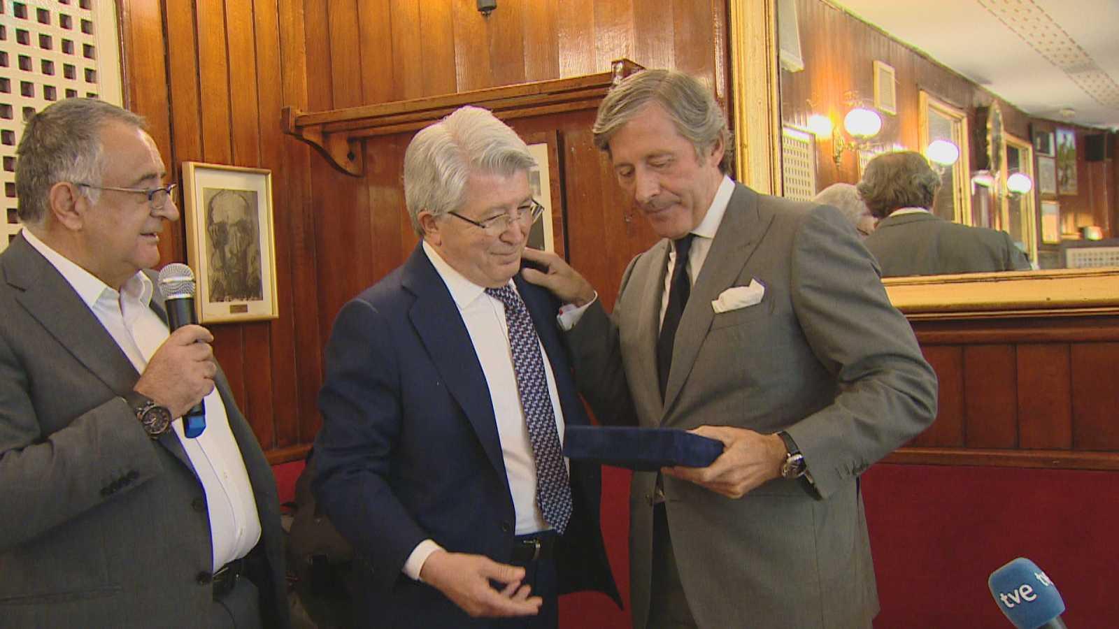 Homenaje a Jesús Álvarez  por sus 45 años en TVE
