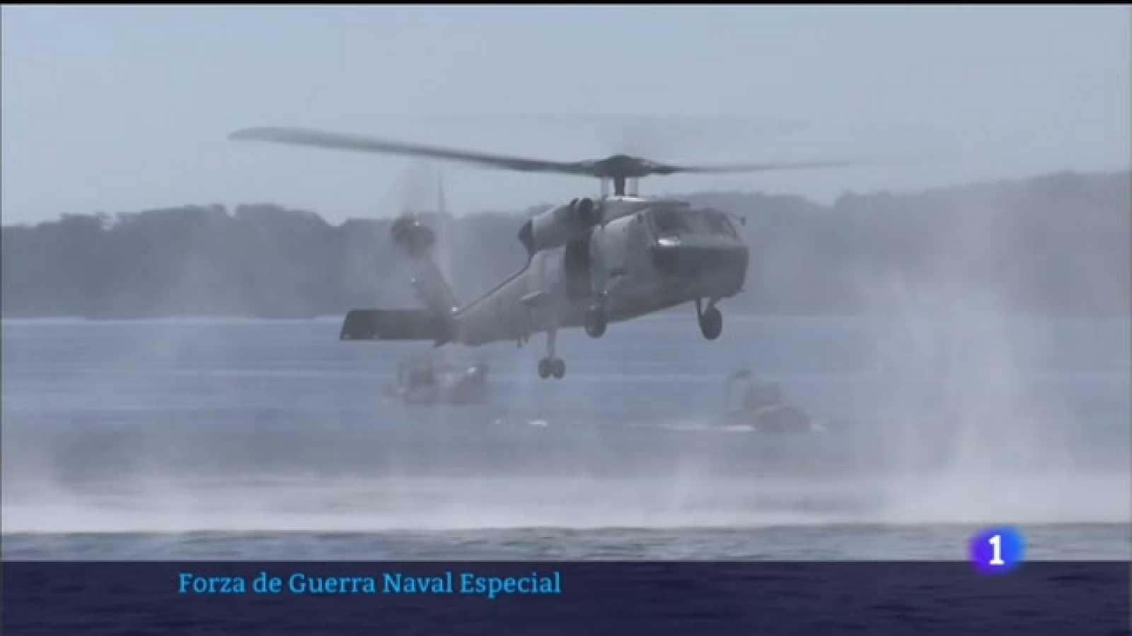 A Forza de Guerra Naval do Exército adestra en Galicia