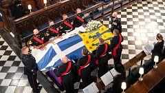 Último adiós al duque de Edimburgo en un funeral íntimo por la pandemia