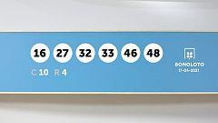Sorteo de la Lotería Bonoloto del 17/04/2021