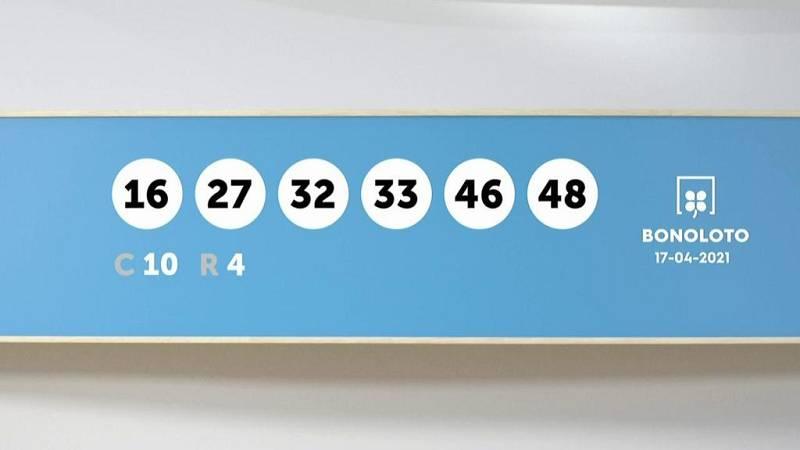 Sorteo de la Lotería Bonoloto del 17/04/2021 - Ver ahora