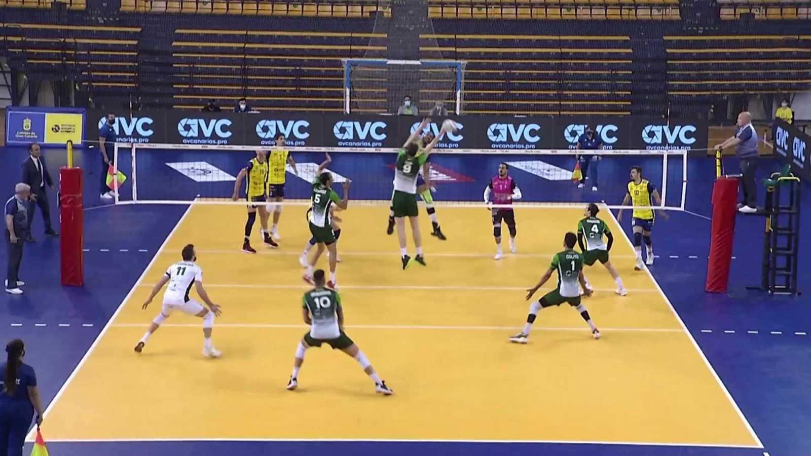 Voleibol - Superliga masculina. Play Off Final 1º partido: CV Guaguas - Unicaja Costa de Almería - ver ahora