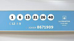 Sorteo de la Lotería Primitiva y Joker del 17/04/2021