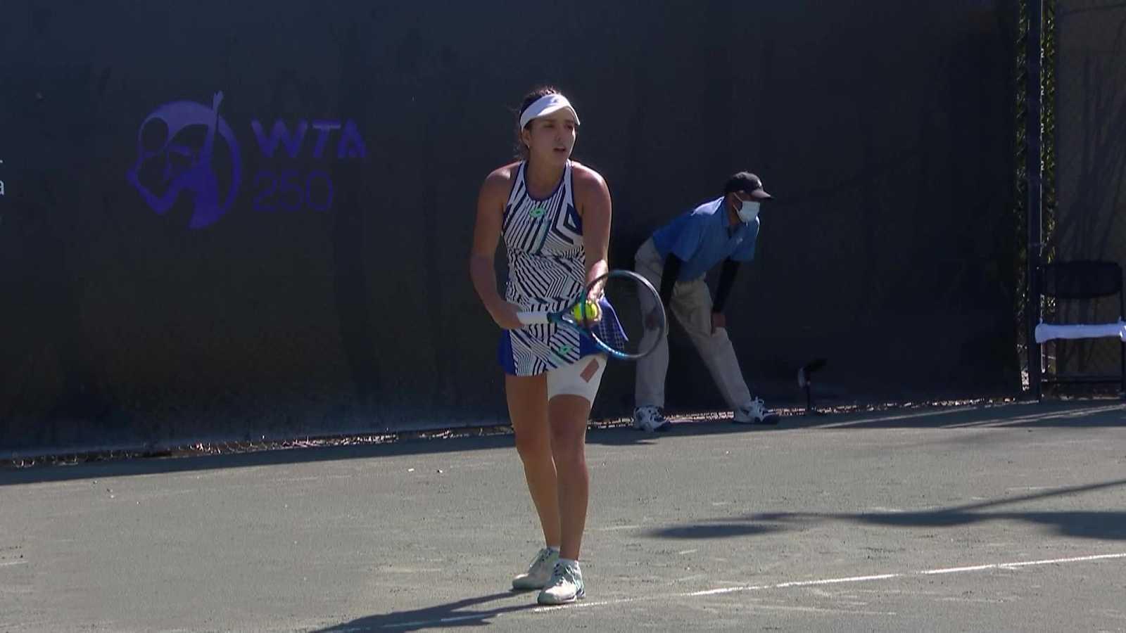 Tenis - WTA 250 Torneo Charleston. 2ª Semifinal: A. Sharma - M. Osorio Serrano - ver ahora
